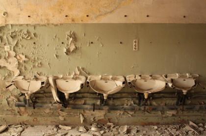 aufgenommen in einer alten stillgelegten Lebensmittelfabrik in Stendal